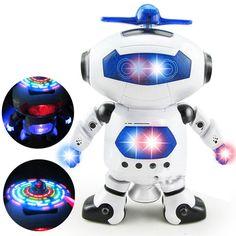 Aliexpress.com :  360 rotierenden Raum Tanzen Roboter Musical Spaziergang Erleichtern Elektronische Spielzeug Roboter Weihnachten Geburtstagsgeschenk Spielzeug Für Kind von verlässlichen light bulb toy-Lieferanten auf winwinstep kaufen