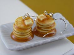 pancake earrings