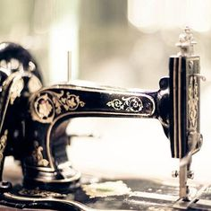 Summer sale, Photo collection for a craft / sewing room - 50% off - 3 antique Sewing machine prints. $20.00, via Etsy.