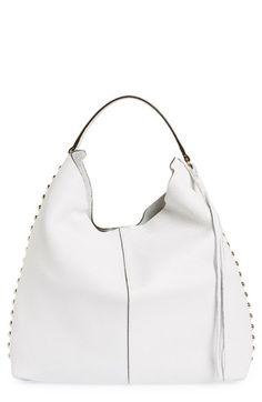 REBECCA MINKOFF Unlined Hobo Bag. #rebeccaminkoff #bags #shoulder bags #leather #hobo #metallic