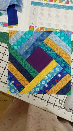 Quilt Blocks Easy, Quilt Block Patterns, Pattern Blocks, Quilting Projects, Quilting Designs, Boy Quilts, Patch Quilt, Mug Rugs, Simple Shapes