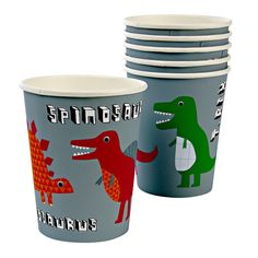 Perfect Cups for a Roarrrrtastic party!