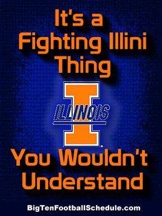 Let's Go Fighting Illini!! http://www.bigtenfootballschedule.com/illinois_football_schedule.html