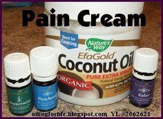 Pain Cream works for my Sciatica  oilingforlife.blo... Independent Distributor #2062621