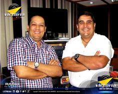 """Atilio Romero y Emerson Ramírez ... parte del equipo de """"Yo Creo en #Venezuela ... un Paraíso Terrenal"""" - Viernes de 5:00 a 7:00 de la tarde en Victoria 103.9 FM #TuRadioVial Informativa."""