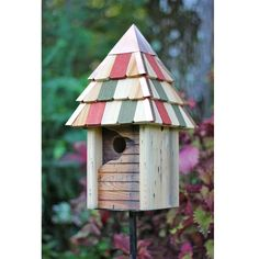 Vintage Gatehouse Birdhouse