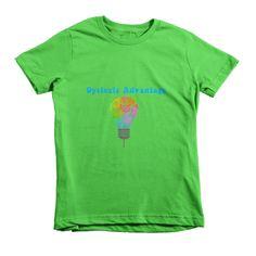 Dyslexic Advantage Short Sleeve Kids T-Shirt (2-6 Years) #dyslexia #dyslexicadv