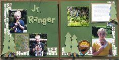 Jr. Ranger My Scrapbook, Scrapbooking Ideas, Be Perfect, Ranger, Jr, Homeschool, Photo Wall, Education, Children