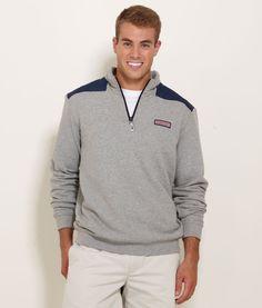 Men's Pullovers: Shep Shirt 1/4 Zip Pullovers for Men – Vineyard Vines
