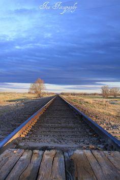 The flat lands of Kansas