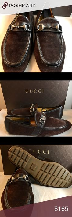 Gucci Loafer 10.5 Brown Gucci Men 10.5 Brown, Horse Bit, Gently Worn **Authentic** Gucci Shoes Loafers & Slip-Ons