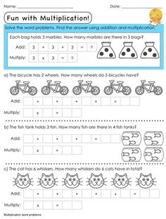 1000+ images about 3rd grade math on Pinterest | Multiplication ...