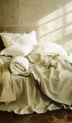 I love bed linens