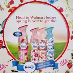 Febreze Limited Edition Spring Scents #FebrezeSpring