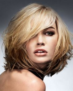 Image result for Short to Medium Length Hairstyles Bob Layered