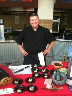 Chef Brian Doyle of SŌW Food Serving Up Tasty Treats.