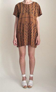 Vain & Vapid, Trikona Triangle Print Dress