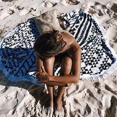Shop this adorable beach towel on Bikini.com! #Roundie