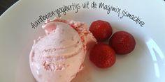 Aardbeien-yoghurtijs maken in de Magimix ijsmachine. Test van de Magimix Le Glacier 1,5 l ijsmachine.