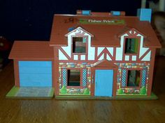 Fisher Price Vintage Dollhouse. Now my grand daughter plays with it.