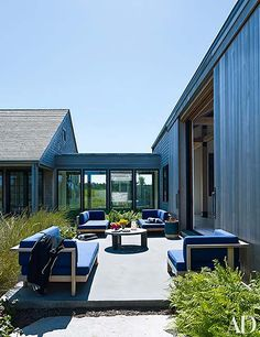 Martha's Vineyard home designed for an art collector