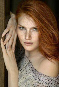 Chrissy #redhead #portrait #beauty #freckles #woman #lady #gorgeous
