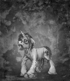 Aisu-Isme   Artists #My #Little #Pony #Zombie #Radioactive #Dark #Gothic