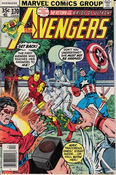 Avengers 170 April 1978 Issue  Marvel Comics  Grade by ViewObscura