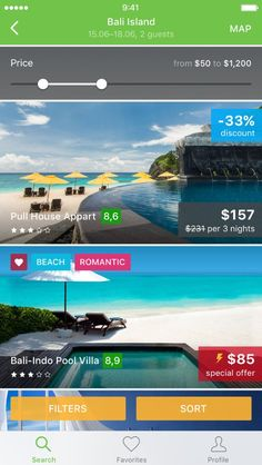 Cheap hotels iOS App