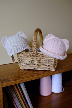 Items similar to Twin Baby Hat Set Ears Hat Newborn Boy Girl Animal Hat Infant Months Photo Props Crochet Cotton Hat Baby Shower Gift Idea Mila Hats on Etsy Newborn Boy Hats, Baby Girl Hats, Girl With Hat, Twin Baby Girls, Twin Babies, Baby Boy Photography, Photography Props, Animal Hats, Diy For Girls