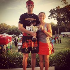 There is such a thing as a Wife Carrying Competition.  And we ranked 3rd place in a Houston Competition.  I am really good at holding my own weight.