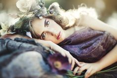 """Julia in """"Elfin Forest"""" by Emily Soto for Coco Magazine"""