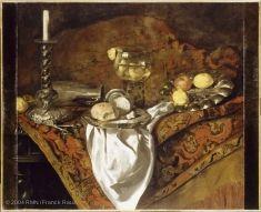 Still-life with Candlestick, Barend van der MEER, Louvre Museum, Paris