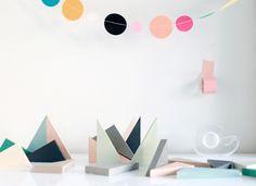 shapes + colours