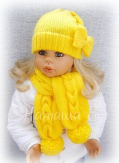 This Pin Was Discovered By Col - Marecipe Baby Hat Knitting Pattern, Crochet Baby Beanie, Crochet Baby Clothes, Hand Knitting, Diy Crafts Knitting, Diy Crafts Crochet, Baby Girl Beanies, Baby Hats, Knitted Hats