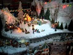 Lionel Model Trains Christmas Winter Wonderland with Thomas by Ron D