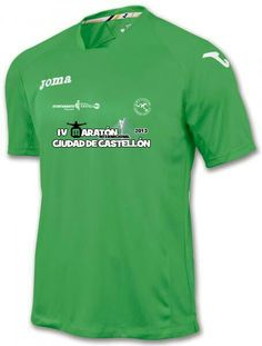 Camiseta técnica para hombres Joma Maratón Castellón 2013