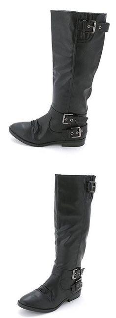 Rampage Womens Idola Mid Calf Riding Boots #Shoes Riding Boots, Calves, Shoes, Women, Fashion, Horse Riding Boots, Moda, Baby Cows, Zapatos