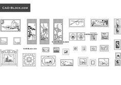Painting - free AutoCAD Blocks