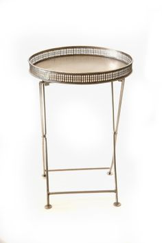 Argentum Folding Tray Table @flea_pop