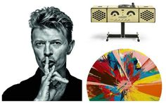 David Bowie's Private Art Collection Is Going On Tour
