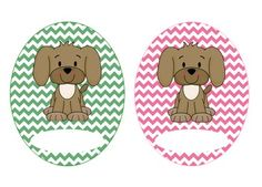 Get your classroom organized with these adorable puppy themed labels! They are brightly colored with cute puppy and chevron clipart and come in three different shapes and sizes:6 round labels6 small labels6 medium labelsOther puppy products are available in my store, as well as a bundle.Puppy Theme Classroom Bundle, Super Adorable