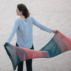 lou scarf knitting pattern - Quince and Co