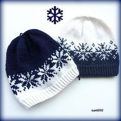 "Ravelry: Vinterstormlua/Winterstorm hat pattern by MaBe ""Knitting Patterns Hat Norwegian and English pattern. Crochet Beanie, Knit Or Crochet, Knitted Hats, Crochet Hats, Crochet Granny, Fair Isle Knitting Patterns, Crochet Patterns, Hat Patterns, Stitch Patterns"