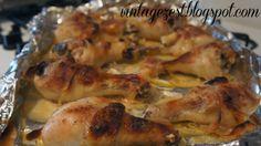 Diane's Vintage Zest!: Buttermilk Roast Chicken