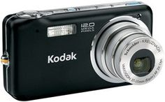 Kodak 8722787 12 Megapixel Easyshare Digital Camera. Product Description Kodak EasyShare V1233 - digital cameraProduct Type Digital camera - point and sh. Dimensions (WxDxH) 4 in x 0.9 in x 2.2 in - WARNING: The solder used in this product contains lead, a chemical known to the State of California to cause birth defects and other reproductive harm. Please wash hands after handling internal components and circuit boards and avoid inhalation of fumes if heating the solder. Weight 5.3 oz…