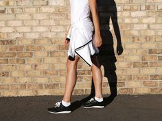 JOGGER IN BLACK GRID – HOUSE OF LEYTON