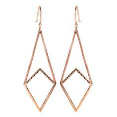 Zoe Chicco 14k black kite earrings Arrow Necklace, Gold Necklace, Kite, Fine Jewelry, Merry, My Style, Earrings, Sparkles, Jewlery