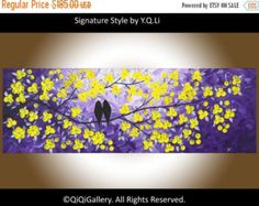 Abstract Acryic painting wall art wall decor Heavy by QiQiGallery