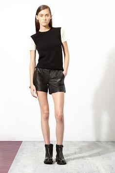 Loving leather shorts!